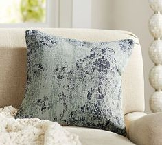 Willa Print Dhurrie Pillow Cover #potterybarn $49.50