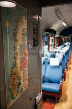 Le train du Nord en Norvège: instants magiques (Detour Local) -> Voici une carte de la norvège sur le train Oslo vers Bodø www.detourlocal.com/train-norvege/