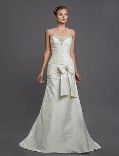 Perla D by Pnina Tornai - Sweetheart A-Line Gown in Taffeta