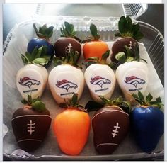 Denver Bronco Treats #BroncoUp #SuperBowl