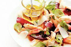 Kijk wat een lekker recept ik heb gevonden op Allerhande! Salade van penne met bietjes en kip
