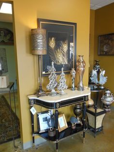 Get your home ready for the Holidays! All Accessories are 50% off and Furniture is 50-70% off. This is just a small portion of our 5,000 square foot showroom! Please feel free to comment or send us private messages for additional information.  mcentiredesigngroup@gmail.com
