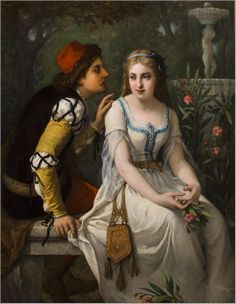 Jules Salles-Wagner (1814 - 1898) - Romeo and Juliet