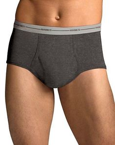 Hanes Men's TAGLESS ComfortSoft Full Rise Dyed Brief  5-Pack Size 2XL Assorted #Hanes #MensBriefs