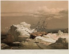 A ship lost while searching for missing explorer Sir John Franklin in the Arctic 150 years ago has been found by Canadian archaeologists. Franklin Expedition, Newberry Library, Arctic Explorers, All About Water, North Coast, British Library, Tall Ships, Sailing Ships, Fine Art