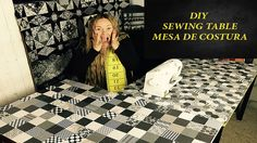 episodio #1 DiY SEWING TABLE - MESA DE COSTURA - MESA DE COSER - YouTube
