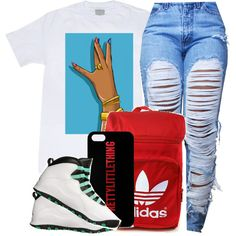 ○Just my day to shine ? by jstrib on Polyvore featuring adidas