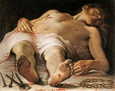 La prospettiva sul corpo umano: lo scorcio - Annibale Carracci