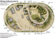 On30 Michigan-California Lumber Co. - from Track Plan Database | ModelRailroader.com