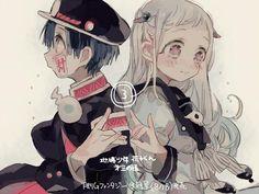 Hanako x Yashiro Manga Anime, Anime Art, Loli Kawaii, Cute Anime Couples, Aesthetic Anime, Anime Love, Anime Characters, Chibi, Character Design