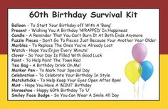 Friend's Birthday Survival Kit In A Can. Humorous Novelty Fun Gift To Say Happy Birthday - Friendship Present & Card All In One. Customise Your Can Colour (Purple/Lilac) Birthday Gift Cards, Happy Birthday Gifts, Friend Birthday, Birthday Wishes, Birthday Humorous, Grandpa Birthday, Birthday Quotes, Birthday Survival Kit, Survival Kit Gifts