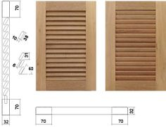 Wooden Window Blinds, Blinds For Windows, Windows And Doors, Louvre Windows, Louvered Shutters, Diy Shoe Rack, Woodworking Tips, Carpentry, Furniture Making