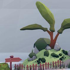 buy it: https://www.cgtrader.com/3d-models/exterior/landscape/low-poly-forest-set