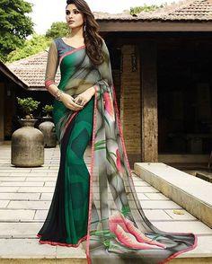 #Indiandresses #wedding #yellow #Indianweddingdresses #Red #black #georgette #printed #wedding#saree #Online #India #blue #Bollywoodlehenga #partywear #weddingwear #designersuits #love #womenwear #salwarkameez #ethnicwear #pink #lehengacholi...