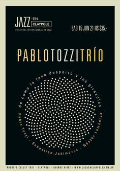 International Jazz Festival Poster [Max Rompo]