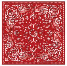 Spitfire bandana Bandana Quilt, Red Bandana, Paisley Stencil, Fabric Design, Print Design, Badass Drawings, Bandana Design, Bandana Styles, Chicano Art