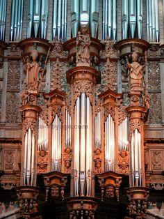 Organ of Cathédrale de Rodez ~ Aveyron, France
