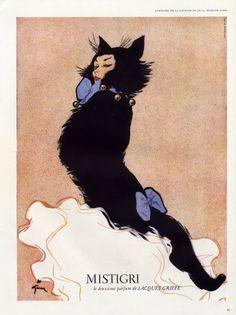 Jacques Griffe (perfumes) 1952 Mistigri -Gruau