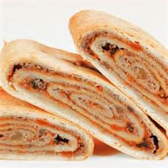 Apricot Roll Variation Nut Recipes, World Recipes, Gourmet Recipes, Cooking Recipes, Polish Recipes, Bread Recipes, Nut Roll Dough Recipe, Rolls Recipe, Apricot Roll Recipe