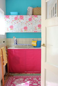 Laundry room by IDA Interior LifeStyle, via Flickr