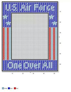 US Air Force picture frame