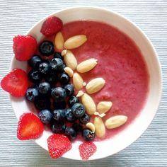Acai Bowl, Smoothies, Oatmeal, Beans, Vegetables, Breakfast, Health, Food, Acai Berry Bowl