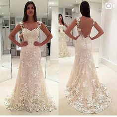 White Lace A Line Wedding Dresses 2016 Sexy Backless Sweetheart Lace Appliques Beaded Tulle Sweep Train Vintage Bridal Gowns Wedding Collection For Bride Wedding Dress Buy Online From Dmronline, $134.38| Dhgate.Com