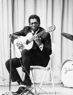 Bola Sete. Always smiling when playing his guitar. Amazing Jazz/Bossa Nova/ Samba guitarrist.