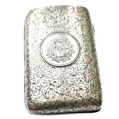 #Antique #English #Sterling #Silver #Monogrammed #Necessaire #Case #frenchgardenhousestyle