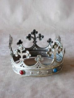 Antique Sterling Silver Crown