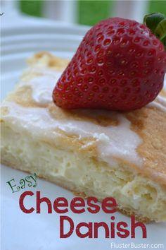 Easy Recipe: Cream Cheese Danish