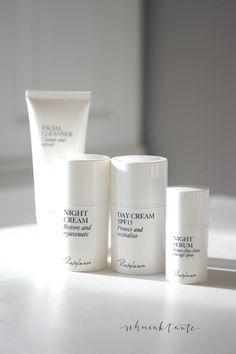 Gesichtspflege der Restylane Skincare Linie.
