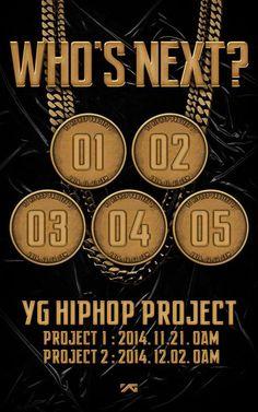 YG 嘻哈新企劃 (兩組) 預告照