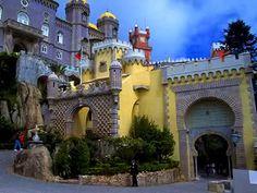 Curious Places: Pena Palace (Sintra/ Portugal)