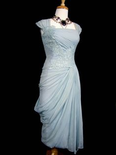 DRAMATIC Marilyn Monroe Bombshell 1950s Draped by Poshporscha, $495.00