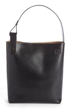 2f268a4ccc5 Loewe 'Medium Asymmetrical' Goatskin Leather Hobo Bag Loewe & # Medium  asymmetrical & # Hobo bag in goatskin