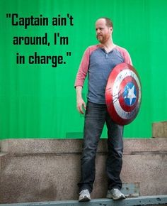 Joss Whedon, Firefly, AND Captain America