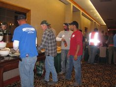 A few of our talented team members at an ESOP gathering in 2011.