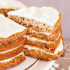 4-Layer Moist Carrot Cake-Get your hourly source of sweet...