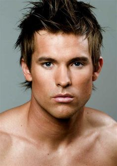 Men: use bronzer, fill in brows if needed