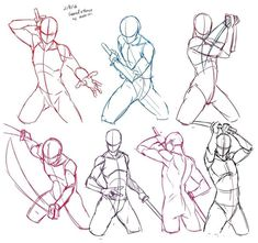 Anatomy Drawing Tutorial Start Using These Suggestions To Assure A Fantastic Experience Body Reference Drawing, Drawing Body Poses, Anime Poses Reference, Sword Reference, Hand Reference, Anatomy Reference, Drawing Sketches, Art Drawings, Drawing Tips