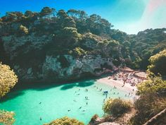 7 Beaches that will make you want to visit Menorca Menorca, Best Beaches To Visit, Balearic Islands, Turquoise Water, Beautiful Beaches, Diet, Travel, Outdoor, Baby