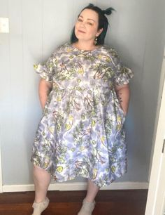 Lovely Jess in her #cwplumdress. What a gorgeous fabric and make! #cocowawapatterns #sewing Technical Drawing, Gorgeous Fabrics, Babydoll Dress, Baby Dolls, Sewing Patterns, High Neck Dress, Comfy, Crafts, Dresses