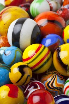 Colorful Marbles Photograph - Colorful Marbles Fine Art Print http://fineartamerica.com/featured/1-colorful-marbles-garry-gay.html#