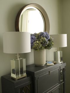 Secretary Cabinet | Crystal Block Lamps | CHRISTOPHER MAYA INC