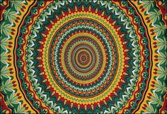 Psychedelic Circles - Tapestry