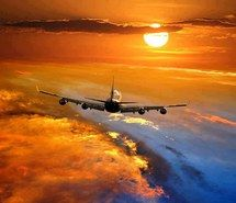 Inspiring picture photography, airplane, colours, sky, sunset, clouds, fly. Resolution: 640x480. Find the picture to your taste!