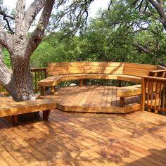 Beautiful DIY Redwood Deck Plans you should try for your entertaining Wood Deck Designs, Pergola Designs, Wood Deck Plans, Koi Pond Design, Diy Deck, Patio Decks, Deck Lighting, Lighting Ideas, Wooden Decks