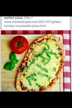 Grilled Tomato Mozzarella Pizza (Pg. 2)
