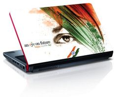 Amore An Eye On Future Republic Day Laptop Skin